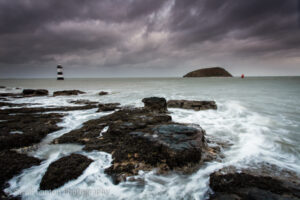 Penmon Lighthouse and Puffin Island